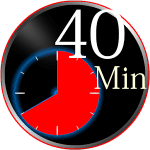 40 Minutes Timer Mod Apk- with progress notification 1