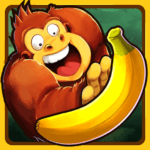Banana Kong Mod Apk (Bananas/Hearts) 2