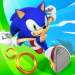 Sonic Dash Mod Apk - Red Star Rings for Android 1