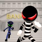 Stickman Bank Robbery Escape MOD Apk Download 1